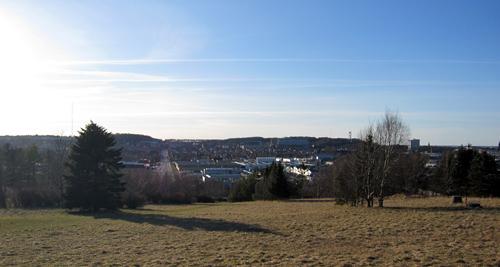 Udsigt over Aalborg