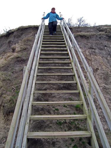 Trappen til stranden
