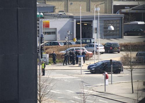 Politiet i arbejde