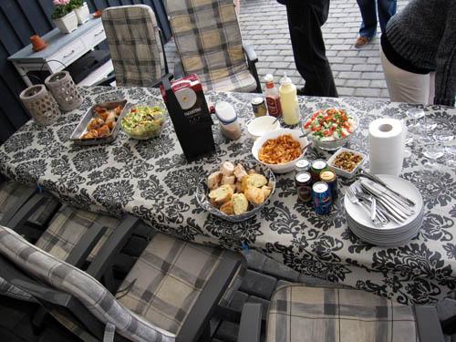 Aftensmad i Blokhus