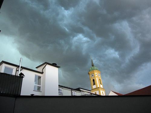 Uvejr over Freising