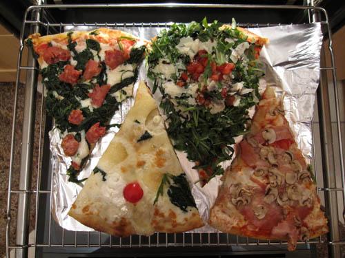 Pizza fra Enrico Rossini