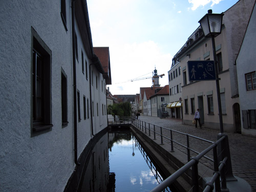Vandløb i Freising