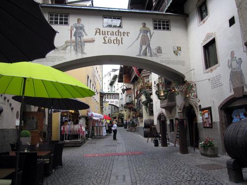 Smalle gader i Kufstein