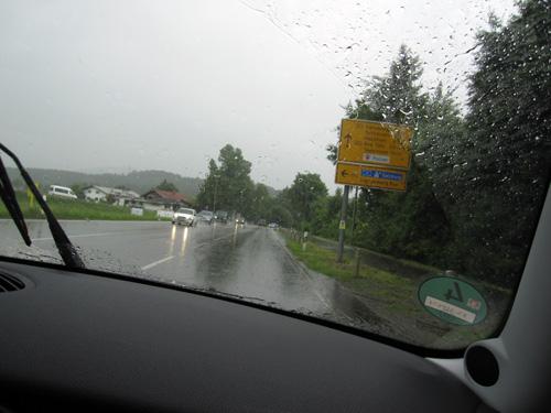 Regnvejr!