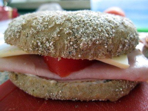 Lækker sandwich
