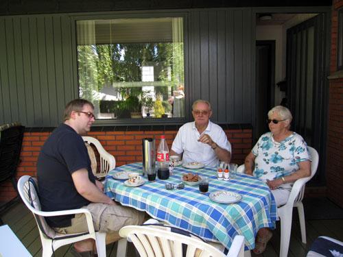 Mads og hans forældre