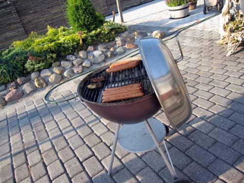 En grill pølle