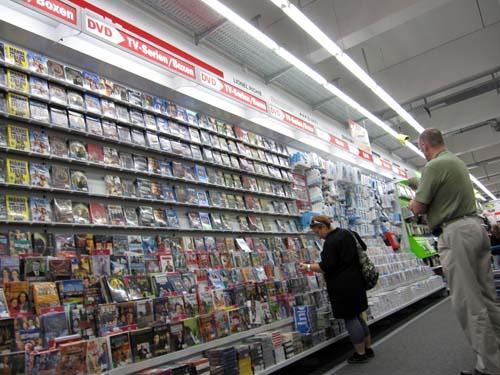 DVD'er i lange baner