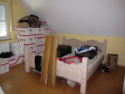 Kaos i soveværelset