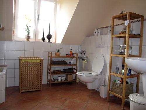 Badeværelset er på plads