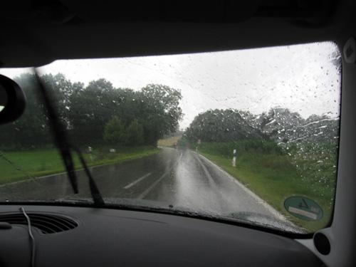 Regnvejr igen!!