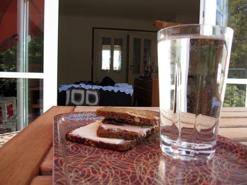 Frokost i varmen