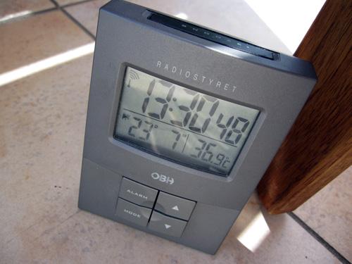 Temperaturen bare stiger og stiger!