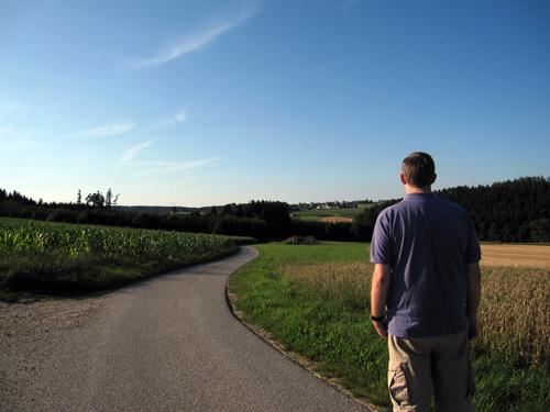 Wolfersdorf i det fjerne