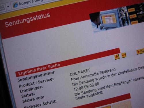 Den tyske post
