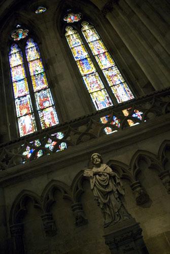 Indenfor i kirken