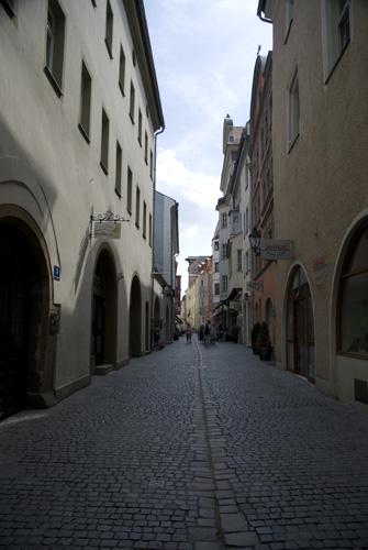 Regensburgs små gader