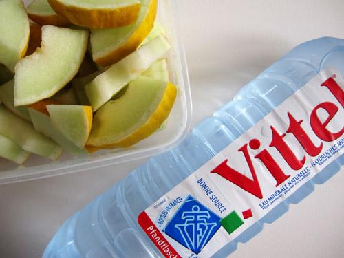 Frugt og koldt vand!