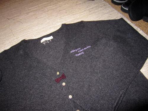 Ny trøje...