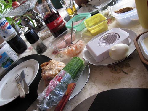 Frokost i Blokhus...