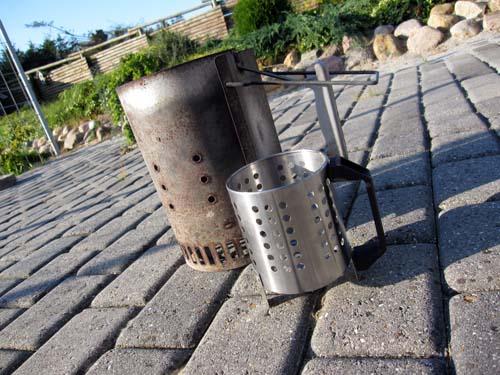 Mini grill starter...