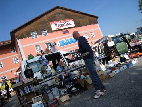 Loppemarked i Allershausen...