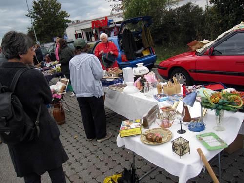 Loppemarked i Freising..