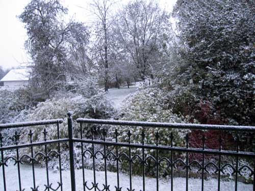 Vinter vejr...