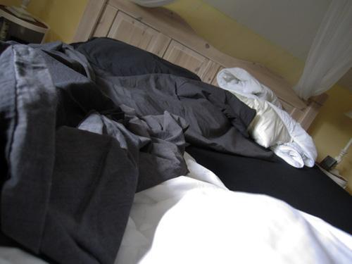 Frisk sengetøj...