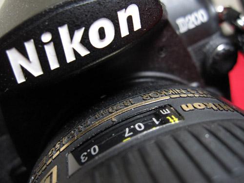 Ind med Nikon...