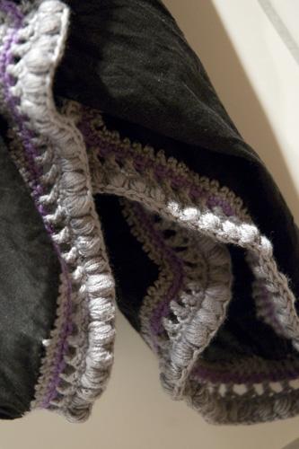 Tørklædets mønster...
