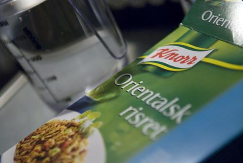 Risret fra Knorr...