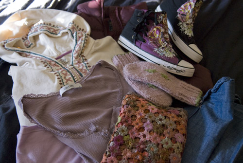 Shopping outfit...