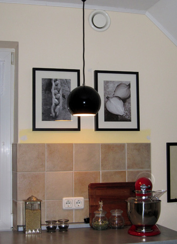 Nye billeder i køkkenet...