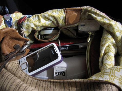 Min taskes indhold...