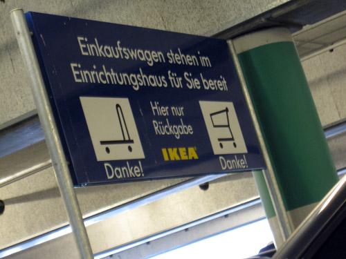 En tur i Ikea...