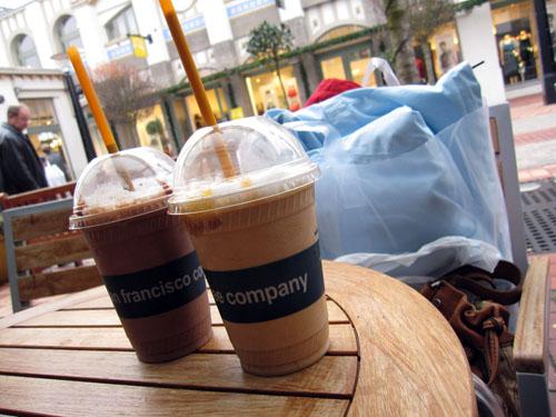 Mmmmm en god kaffe...