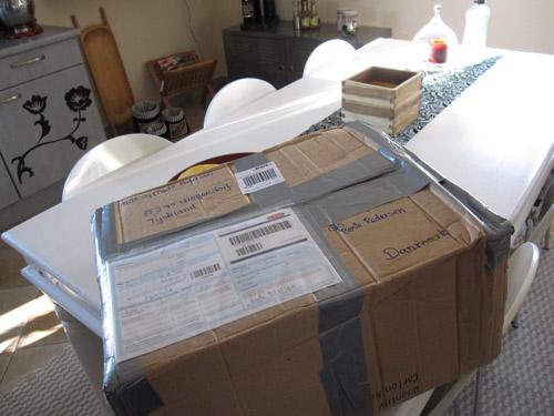 En pakke fra mor...