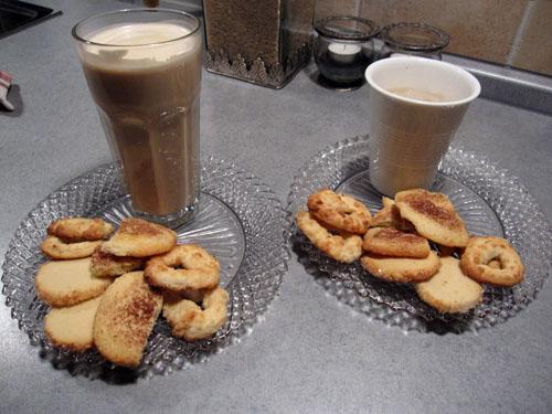 Go kaffe og småkager...