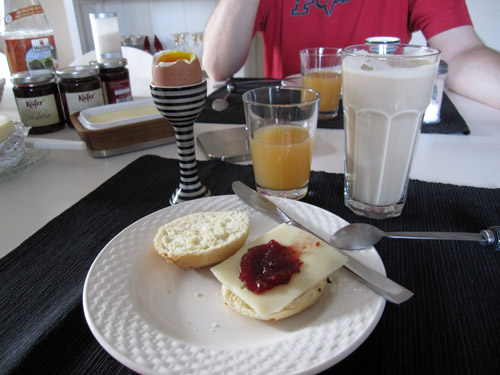 Sen morgenmad...