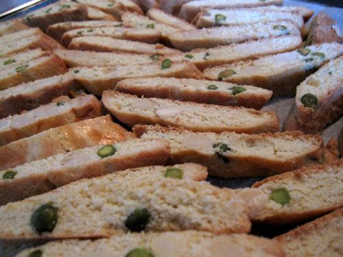 Heibergs Biscotti med mandler og pistacienødder...
