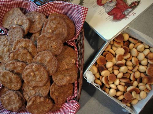 Pebernødder og kager...