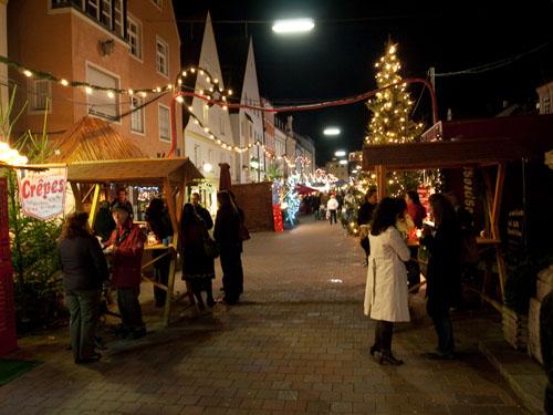 Julemarked i Freising...