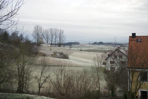 En smule frost...