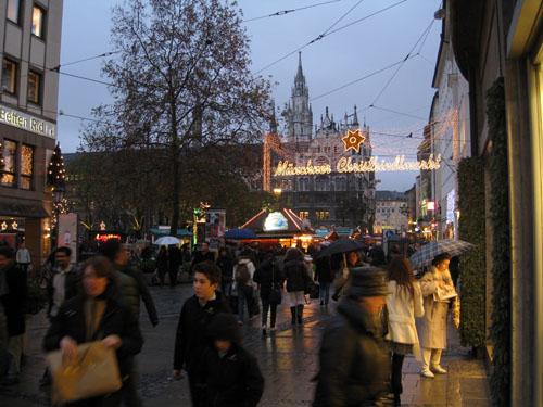 Julemarked i München...