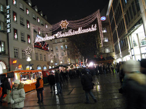 Gågaden i München...