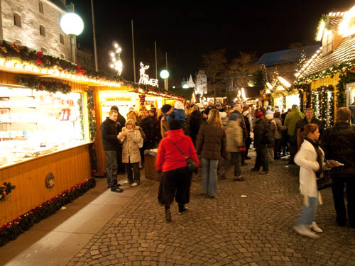 Julemarked i Ingolstadt...