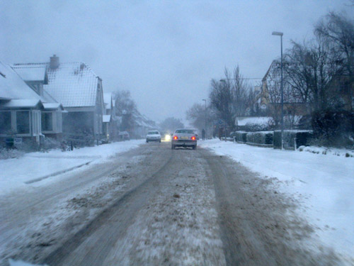 Sne sne og sne...