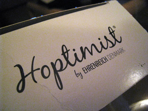 En Hoptimist....